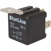 Реле 5-контактное StarLine 5C24V (24 вольта, с держателем)