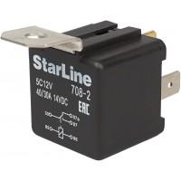 Реле 5-контактное StarLine 5C12V (12 вольт, с держателем)