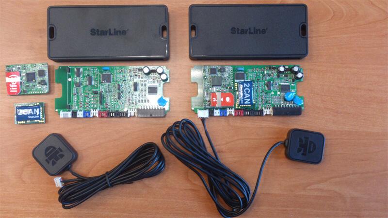 автосигнализация StarLine E60 превращается в мощный охранно-поисковый комплекс