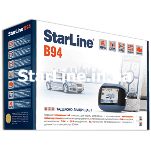 StarLine B94 2CAN GSM GPS