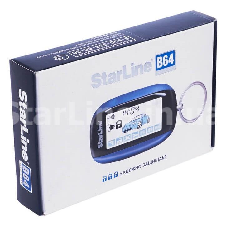 Брелок StarLine B64 Slave (з дисплеєм)