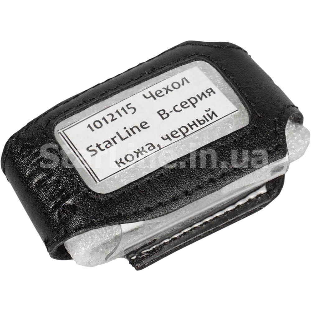 Чохол для брелока StarLine B-серії (шкіра, чорний)