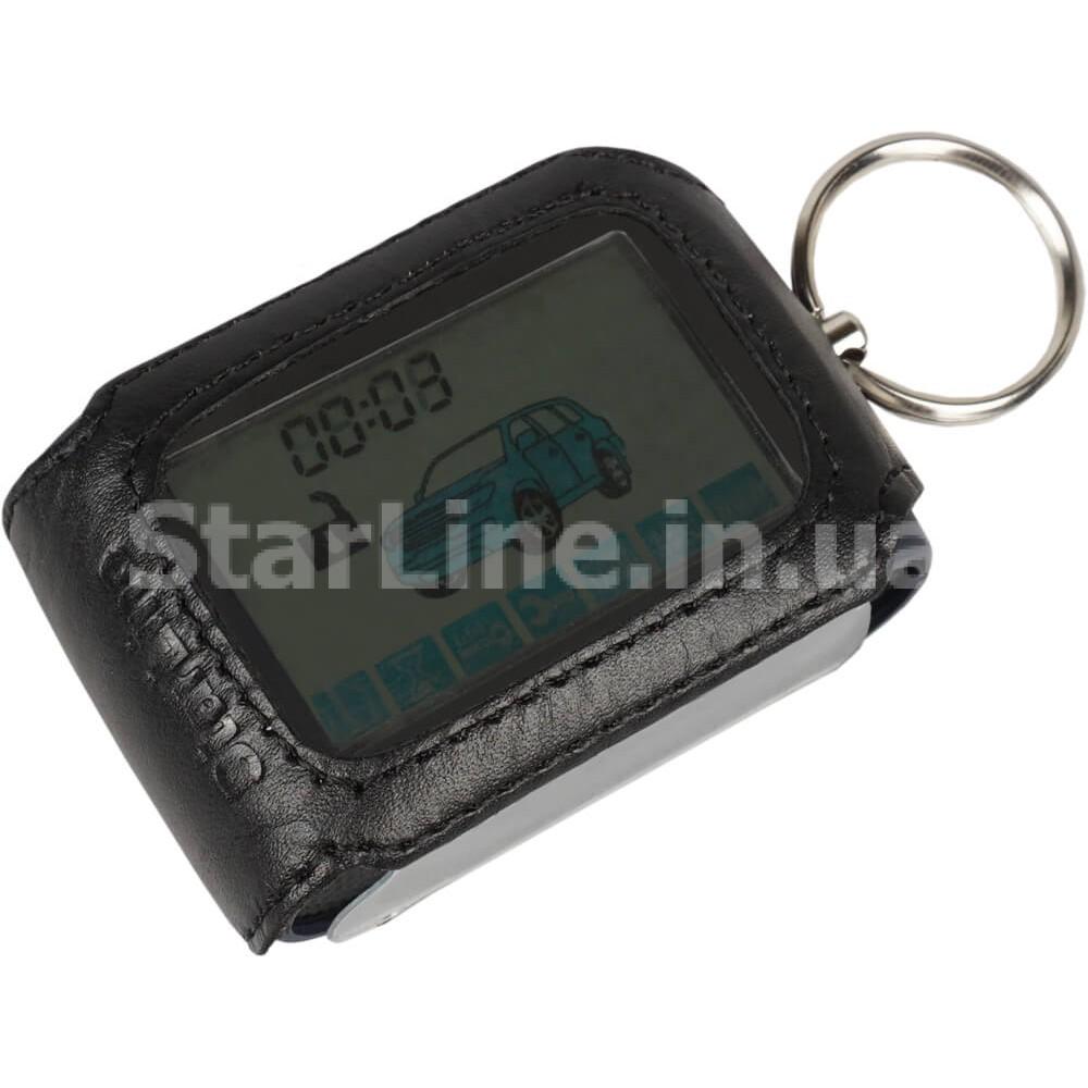 Чохол для брелока StarLine D-серії (шкіра, чорний)