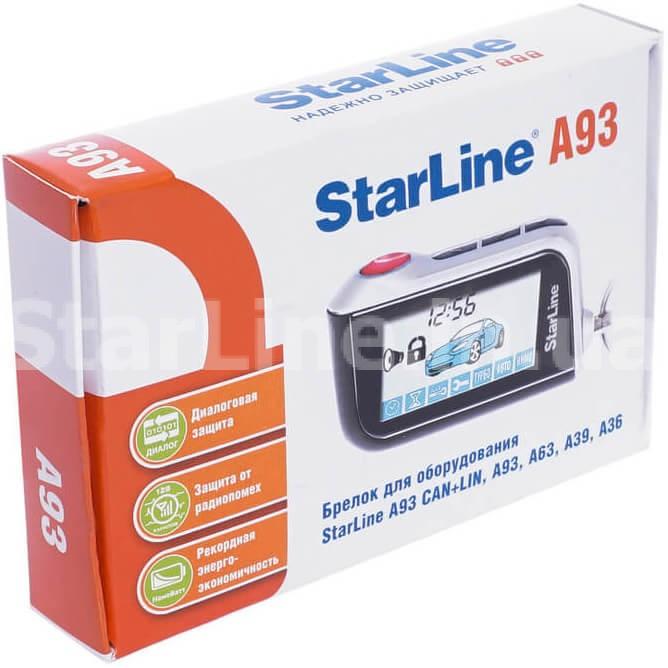 Брелок StarLine A93/A63 (з дисплеєм)