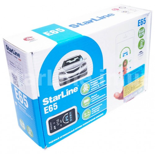 StarLine E65 BT 2CAN+2LIN