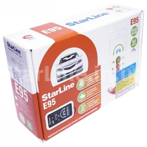 StarLine E95 BT 2CAN+2LIN GSM