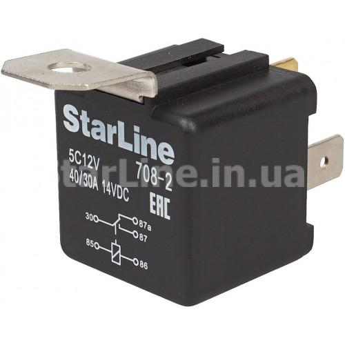 Реле 5-контактне StarLine 5C12V (12 вольт, з тримачем)
