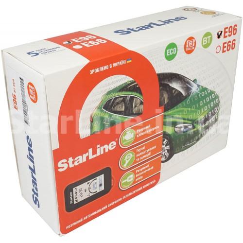 StarLine E96 ВТ 2CAN+2LIN ECO