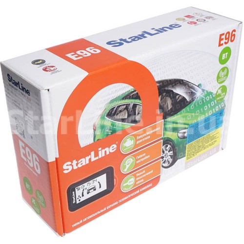 StarLine E96 ВТ 2CAN+2LIN GSM/GPS old