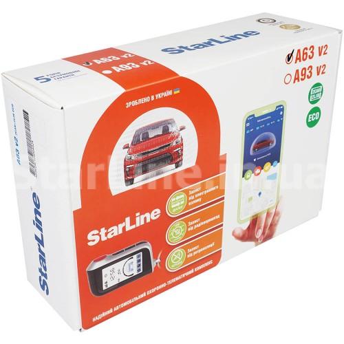 StarLine A63 v2 2CAN-2LIN ECO