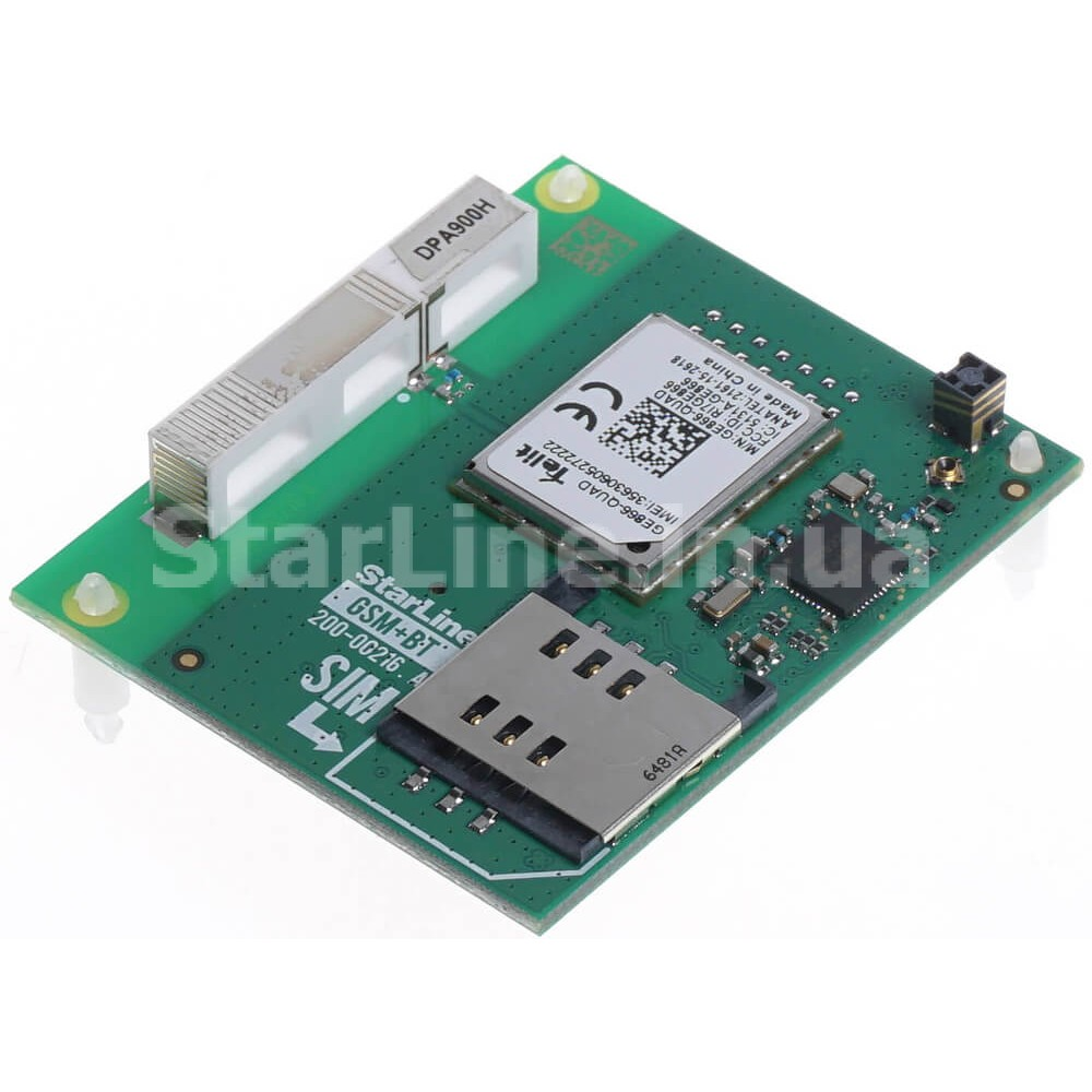 StarLine GSM+BT для систем 6 поколения