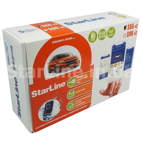 StarLine S66 V2 BT 2CAN+4LIN GSM