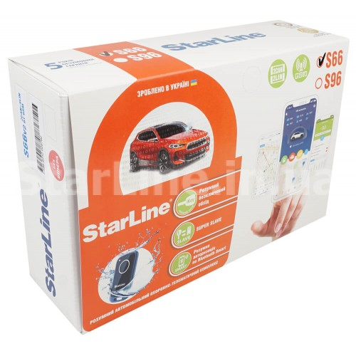StarLine S66 V2 BT 2CAN+4LIN GSM
