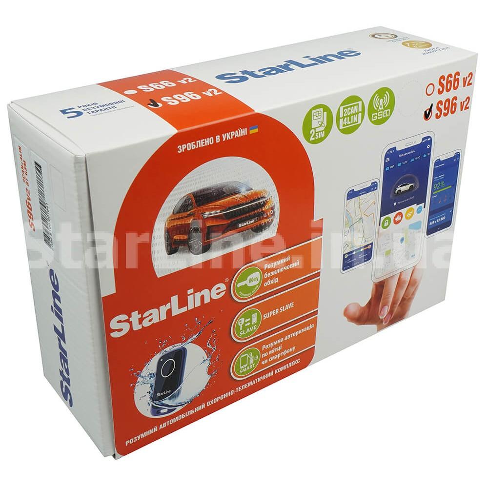 StarLine S96 V2 BT 2CAN+4LIN GSM