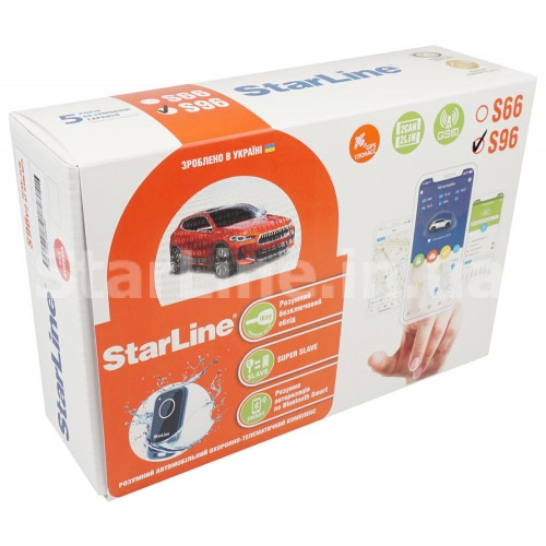 StarLine S96 V2 BT 2CAN+4LIN GSM-GPS