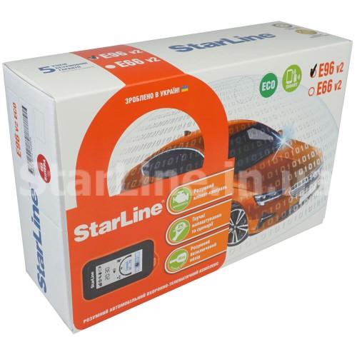 StarLine E96 V2 ВТ 2CAN+4LIN ECO