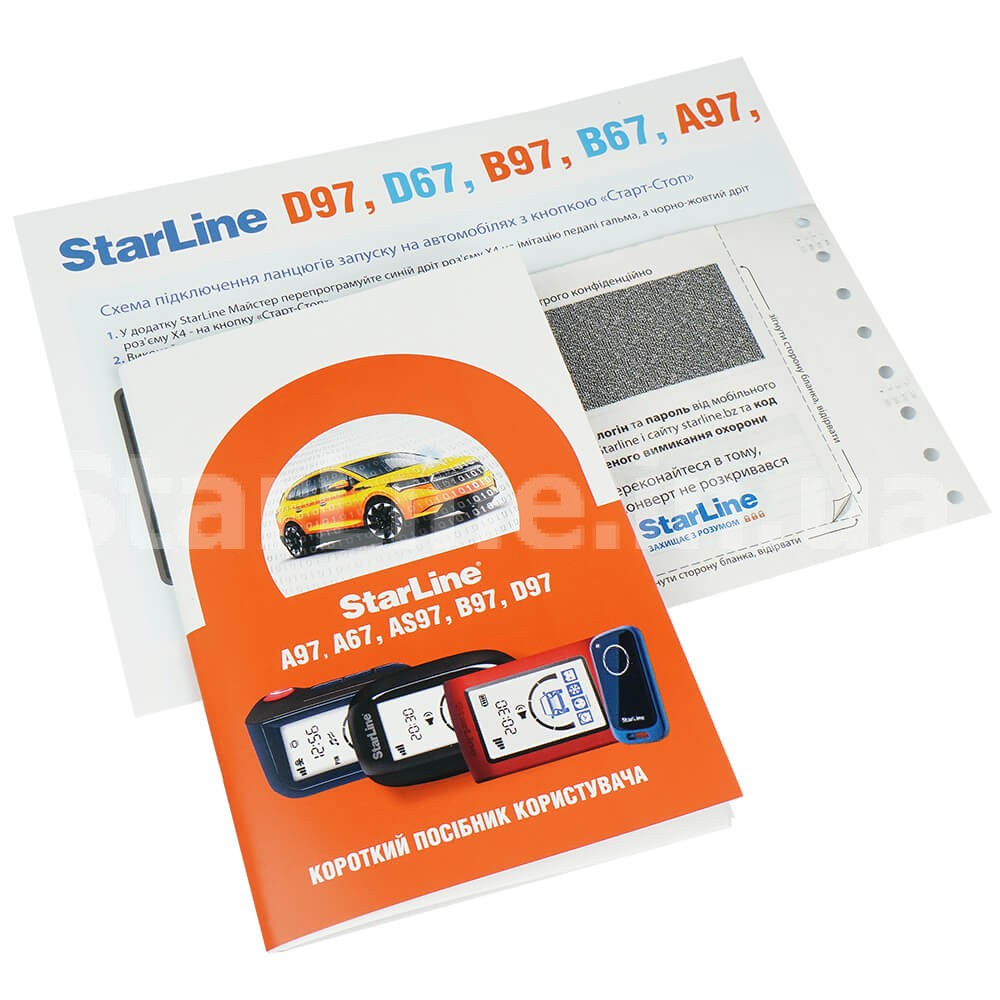 StarLine AS97 BT 3CAN+4LIN LTE-GPS