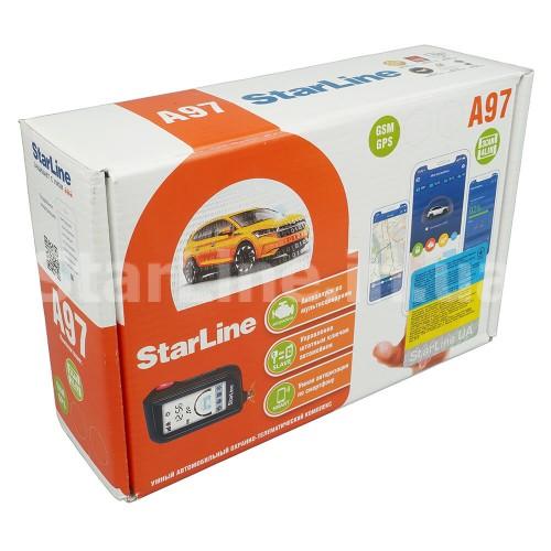 StarLine A97 BT 3CAN+4LIN GSM GPS